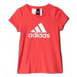 adidas Dívčí tričko - červené