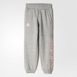 adidas Dívčí tepláky - šedé