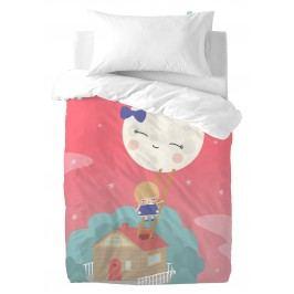 Happynois Dětské povlečení Moon Dream, 100x120 cm/50x30 cm