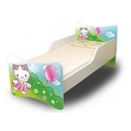 Ourbaby Dětská postel Kočička,160x70 cm