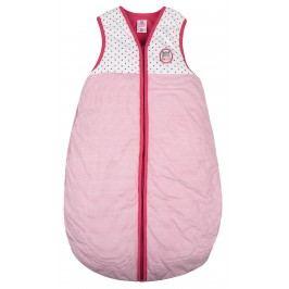 G-mini Dívčí spací pytel Zebra - růžovo-bílý