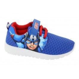 Disney by Arnetta Chlapecké tenisky Captain America - modré