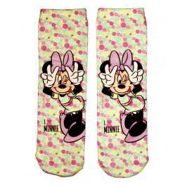 E plus M Dívčí ponožky Minnie - barevné