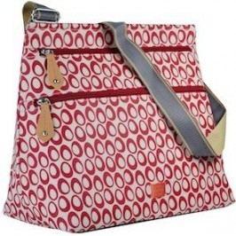 PacaPod JURA červená - kabelka i přebalovací taška