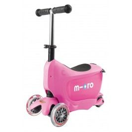 Micro Odrážedlo/tříkolka Mini2go Pink