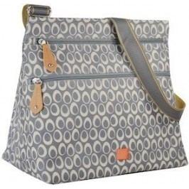PacaPod JURA šedá - kabelka i přebalovací taška