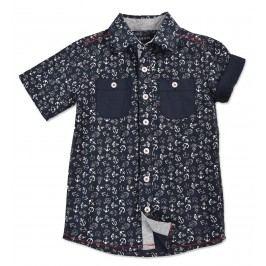 Blue Seven Chlapecká košile - tmavě modrá