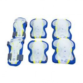 Spokey SENTINEL - 3-dílná sada dětských chráničů modré velikost L