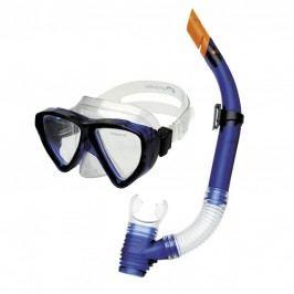 Spokey QUARIUS JUNIOR-Sada brýle+šnorchl modrý