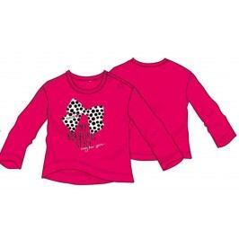 Primigi Dívčí tričko s mašlí - tmavě růžové