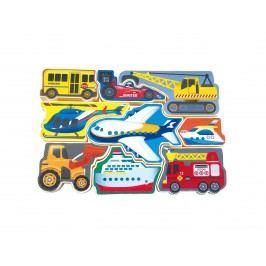 Wiky Puzzle dopravní prostředky