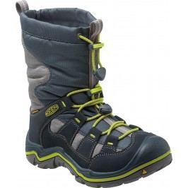 Keen Chlapecká zimní obuv Winterport II WP - tmavě modrá