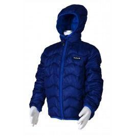 PIDILIDI Chlapecká nylonová prošívaná bunda - tmavě modrá