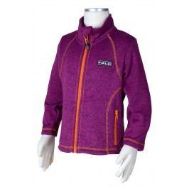 PIDILIDI Dívčí svetr na zip - fialový