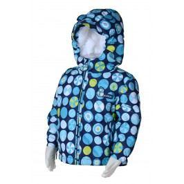 PIDILIDI Chlapecká zimní bunda s kolečky - modrá