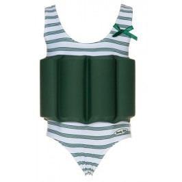 Beverly Kids Dívčí nadnášející plavky - zeleno-bílé