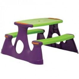Starplay Piknikový stůl - zeleno-fialový