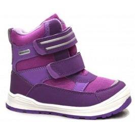 Bugga Dívčí zimní boty s membránou - růžovo-fialové