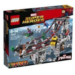 LEGO® Super Heroes 76057 Spiderman: Úžasný souboj pavoučích válečníků na mostě