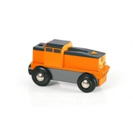 Brio Elektrická nákladní lokomotiva (baterie AA není součástí) jezdí jen dopředu, dotyková