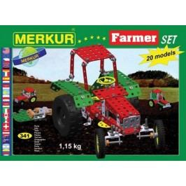 Merkur Stavebnice Farmer Set 20 modelů - 341 ks
