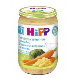 HiPP Bio Těstoviny se zeleninou a smetanou 6x220g