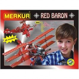 Merkur Stavebnice Red Baron 40 modelů - 680 ks