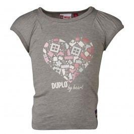 LEGO® wear Dívčí tričko Tiff 402 - šedé