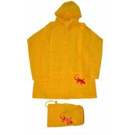 PIDILIDI Dětská pláštěnka Salamander - žlutá