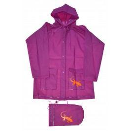 PIDILIDI Dětská pláštěnka Salamander - fialová