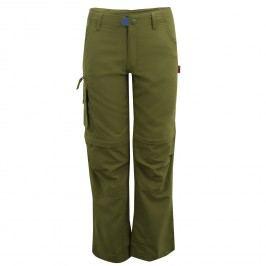 Trollkids Dětské kalhoty Oppland - tmavě zelené