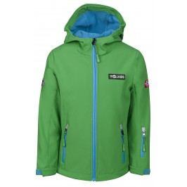 Trollkids Dětská softshellová bunda Oslofjord - zeleno modrá