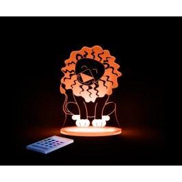 Aloka Noční světýlko Lev + ovladač pro volbu barev