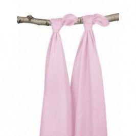 Jollein Osušky bambus balení 2ks, light pink, 115x115cm
