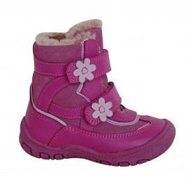Protetika Dívčí zimní boty Diana - růžové