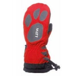 Matt Dívčí rukavice Claw - červené
