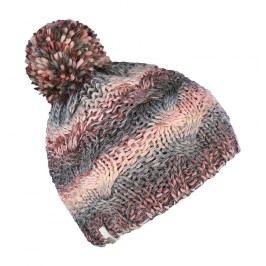 Brekka Dívčí pletená čepice Fancy - barevná