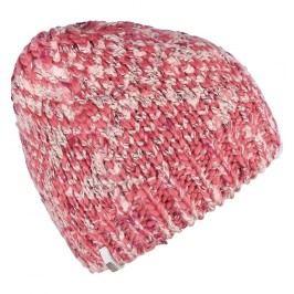 Brekka Dívčí pletená čepice Glitch - cihlová