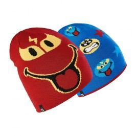 Brekka Chlapecká oboustranná čepice Smiley - barevná