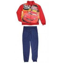 E plus M Chlapecká tepláková souprava Cars - červeno-modrá