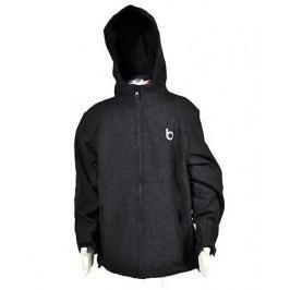Bugga Chlapecká funkční softshellová bunda - černá
