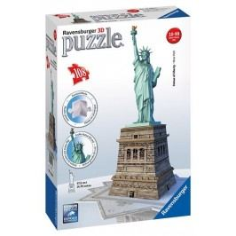 Ravensburger Puzzle Socha Svobody 3D 108 dílků