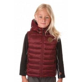 Nordblanc Dívčí prošívaná vesta Merry - měděná