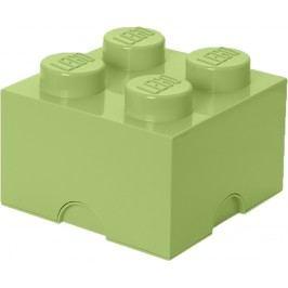 LEGO Úložný box kostka malá - jarní zelená