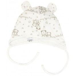 Mamatti Chlapecká čepice Teddy Bear - béžová