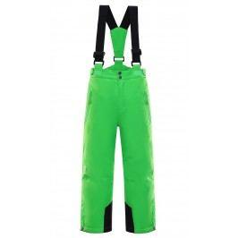 ALPINE PRO Chlapecké lyžařské kalhoty Aniko - zelené