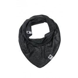 Lamama Chlapecký šátek/nákrčník - černo-šedý