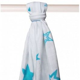 XKKO Bambusová osuška 90x100 cm, Turquoise Stars
