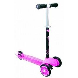 Authentic Sports Dětská tříkolka - růžová, průměr kol 120mm a 80mm