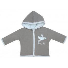 Nini Chlapecký kabátek s pejskem - šedý